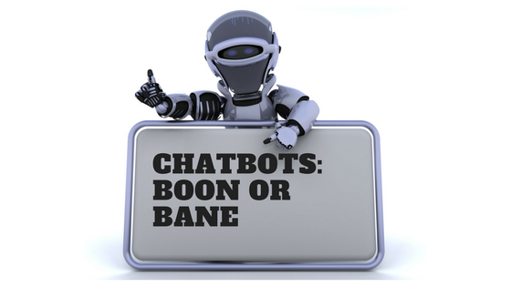 Image of chatbot questioning of its future