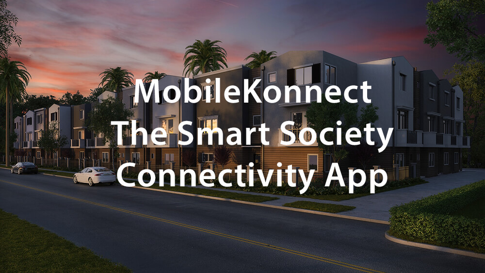 MobileKonnect - The Smart Society Connectivity App